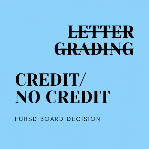 FUHSD implements credit/no-credit grading in response to COVID-19