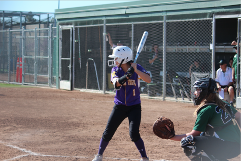 Senior Lauren Lee began playing softball when she was 5 years and was on varsity all 4 years.