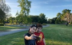 Sophomore Alysa Phattanaphibul went to a local park with her brother on her birthday. Photo by Alysa Phattanaphibul
