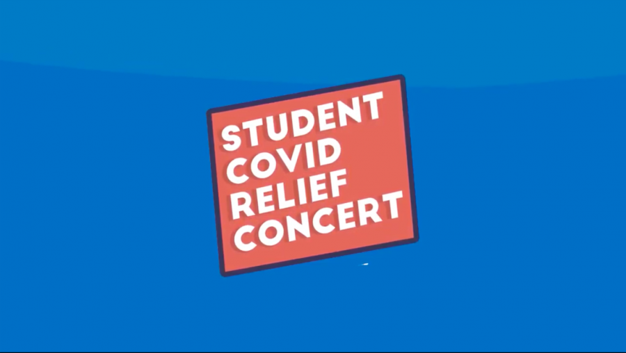 The promotion photo for the concert. Photo from @studentcovidreliefconcert on Instagram