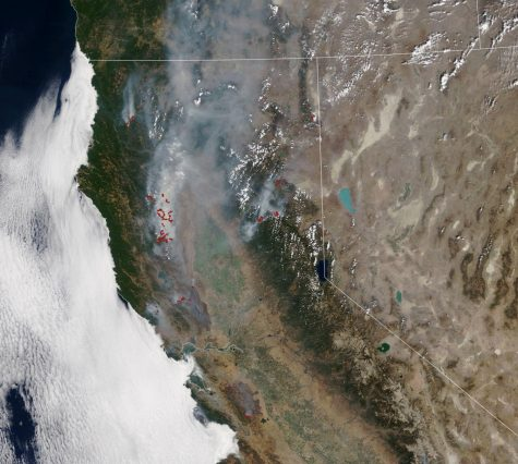 This image from the NASA Earth Observatory demonstrates the extent of California's 2020 wildfires and the burn scars left on the state. Used with permission | NASA