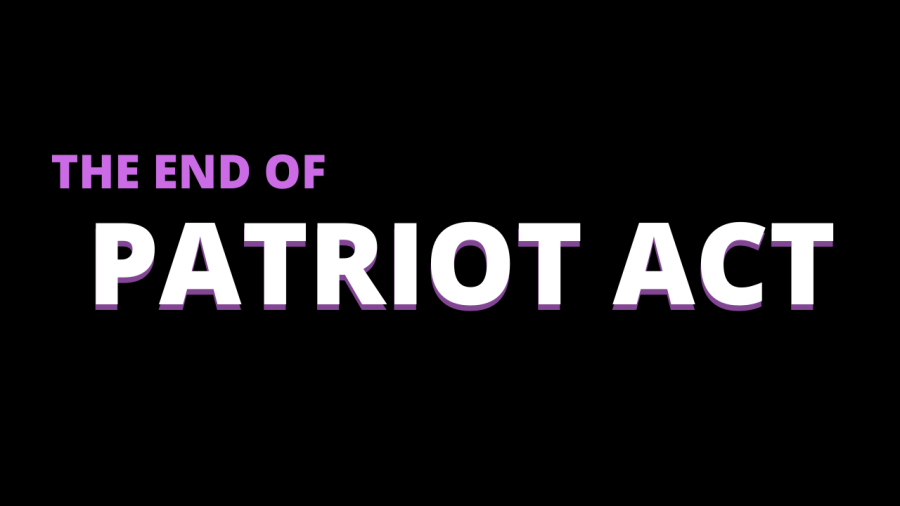 The end of 'Patriot Act' and its consequences
