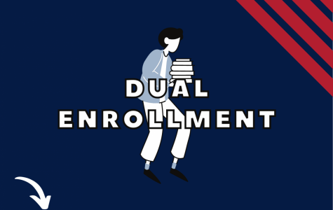 The increase in concurrent enrollment