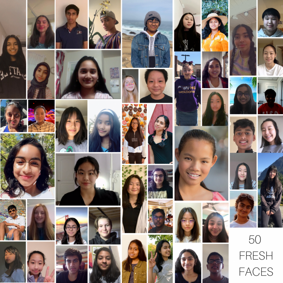 50 fresh faces