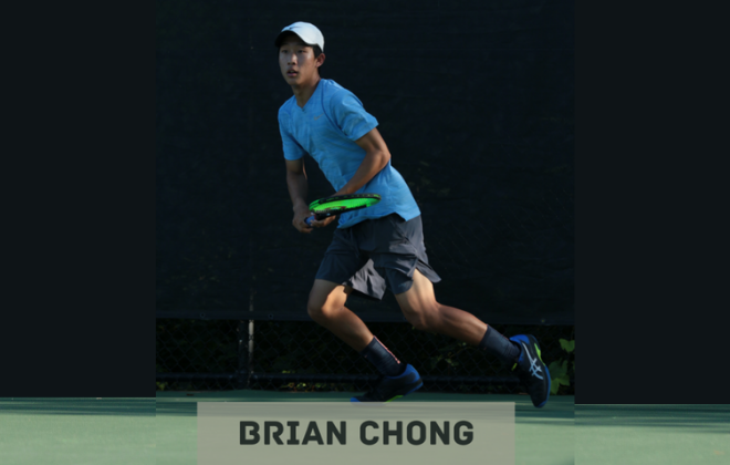 Archbishop+Mitty+senior+Brian+Chong+plays+at+Kalamazoo+in+August+2019.