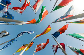 National flags blowing // Image courtesy of Google Images Creative Commons License