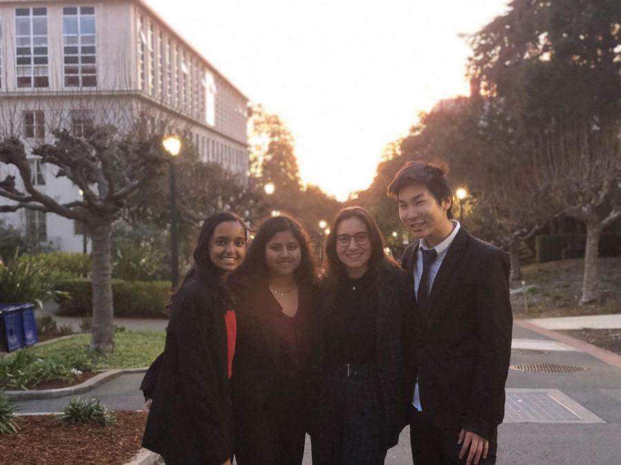 Speech and Debate members attend a tournment at UC Berkeley.