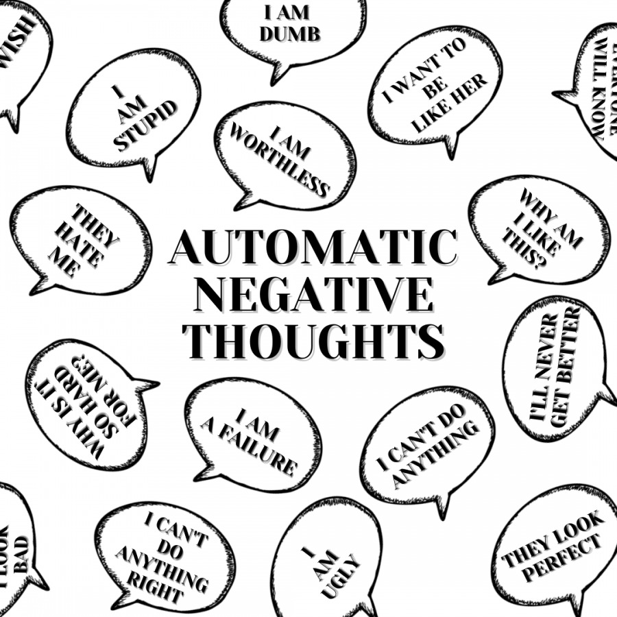 Automatic Negative Thoughts are the conscious or subconscious negative thoughts in reference to one's self.