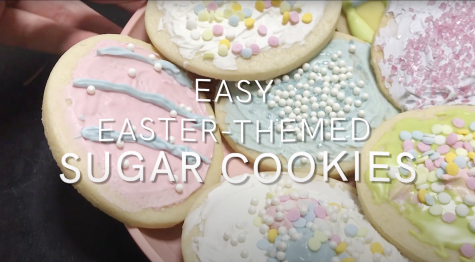 Homemade Hipster: Easy Easter sugar cookies