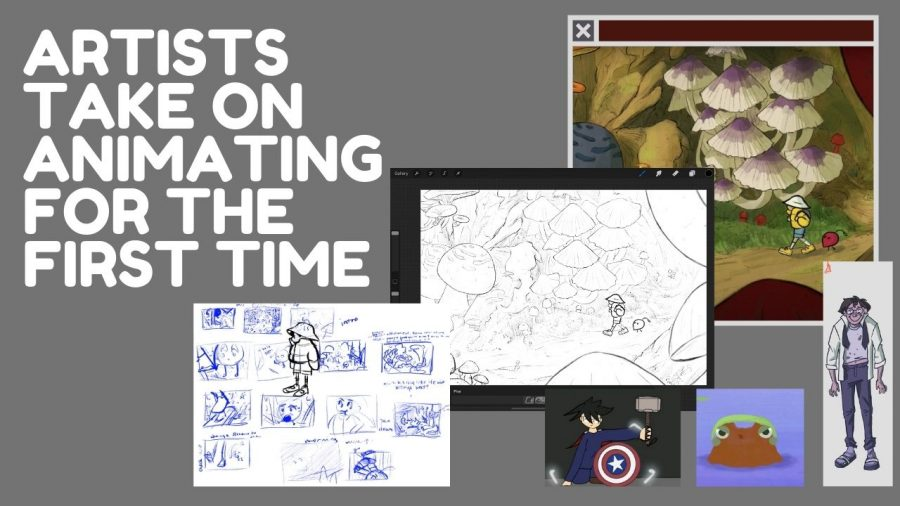 Artists take on animating for the first time