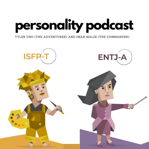 Tylers MBTI personality breakdown — Adventurer — vs. Imans MBTI personality breakdown — Commander.