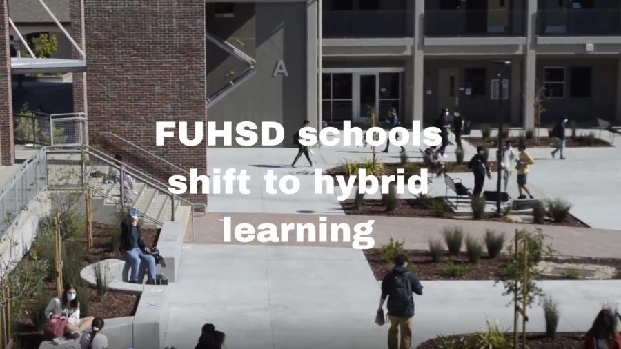 FUHSD schools shift to hybrid learning