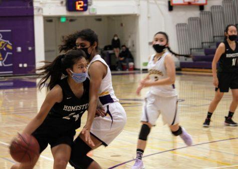 Girls Basketball: Monta Vista loses to Homestead 43-35