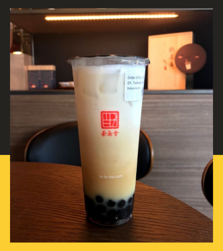 Tie Guan Yin Milk Tea from TP Tea