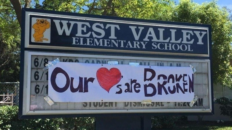 West Valley Elementary School parents and students were shocked after every staff member was reassigned.