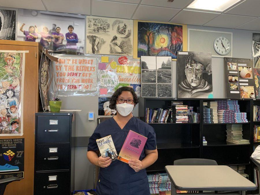 English teacher Jireh Tanabe enjoys
