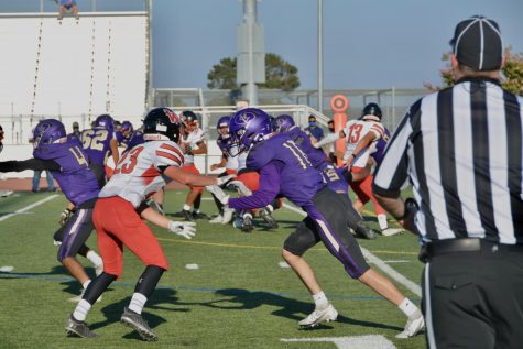 Football falls 42-0 to Westmont in first game of the season