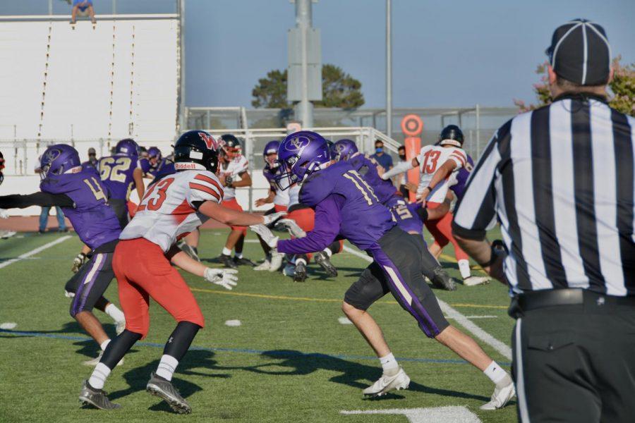 The Varsity Football Team lost its season opener against Westmont High School 42-0.