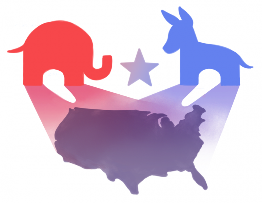 Denouncing the political hegemony that currently dominates America   Graphic by Sophia Ma