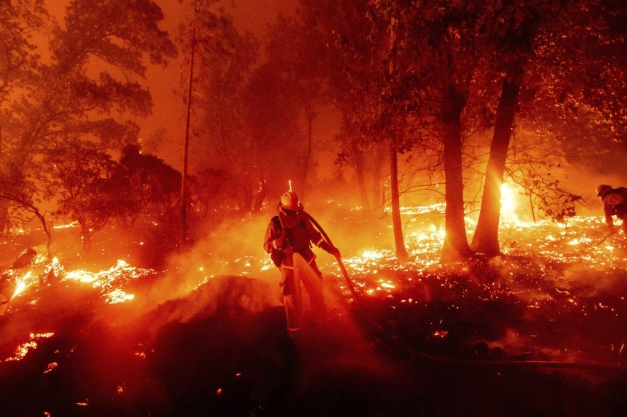 California wildfires threaten safe air quality levels