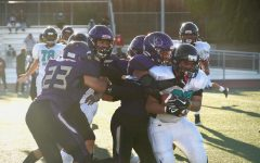 Football team defeats Burton 58-6 in second home game of the season