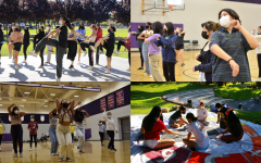 All four classes prepare for their Homecoming skit by hosting dance practices and skit decs.