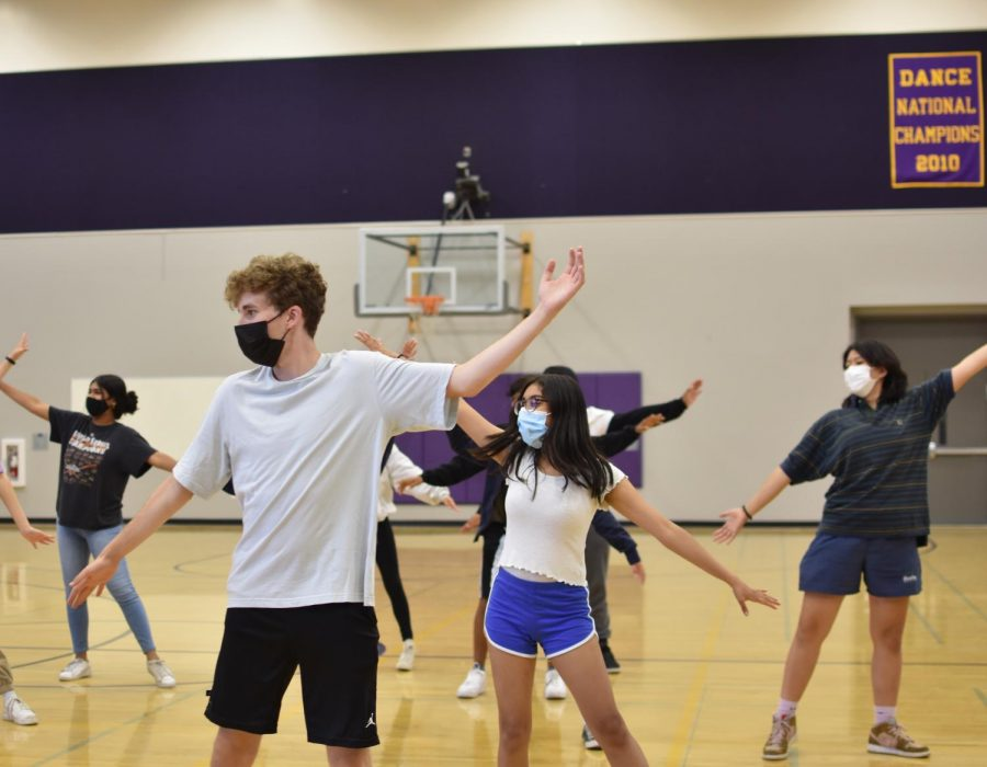 Lavi says participation has increased for the dances and general participation in the Homecoming preparations. Photo by Stephanie Xu