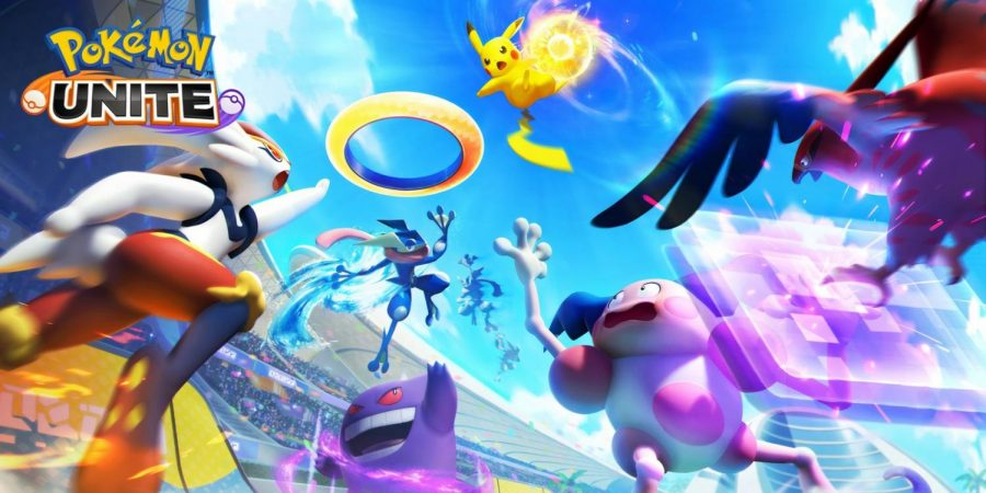 Pokémon Unite is a deviation from RPG titles to the MOBA genre. Photo courtesy of the Pokémon Company