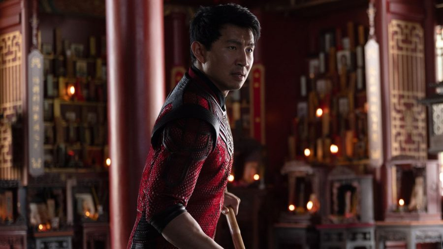 Simu Liu as Shang-Chi in Shang-Chi and the Legend of the Ten Rings.  Photo courtesy of Marvel Studios