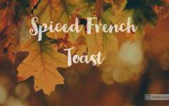 Fall-themed introduction to the recipe video