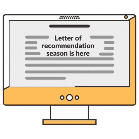 Letter of recommendation season is here Photo Cover. Graphic by Gavin Hung
