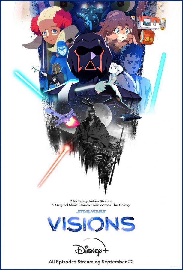 Star Wars: Visions is an anime anthology series consisting of nine episodes. Photo courtesy of Lucasfilm Ltd.